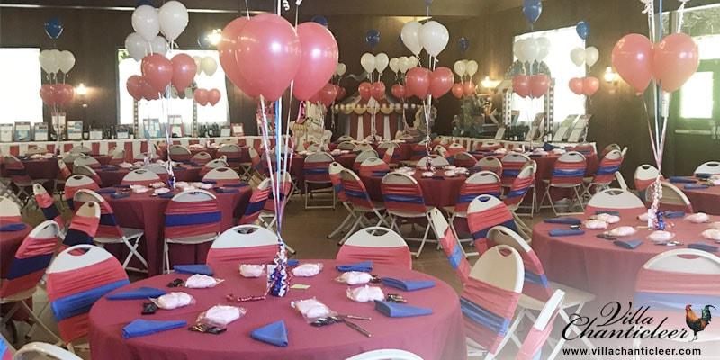Balloons in Your Wedding Décor